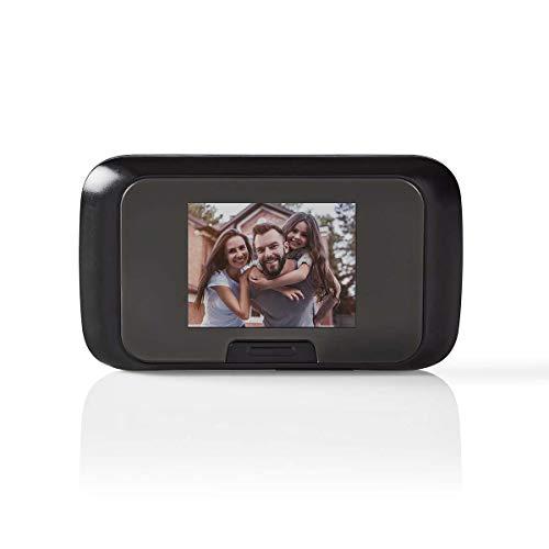 Nedis Video-Türsprechanlage mit LCD-Farbdisplay 2,8 Zoll Aufnahme