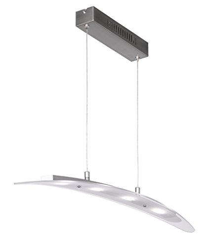 Action Pendelleuchte, 4-flammig, Serie Dijon, 4 x LED, 5 W, Breite 8 cm, Tiefe 80 cm, Abhängung 150