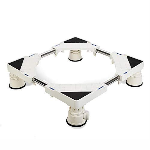 NewbieBoom Hochschränke Edelstahl Sucker Feet Base Stand/Kühlschrank Waschmaschine Basis/Erhöhen Roller Stand (Größe, 14,5 cm), 14,5 cm