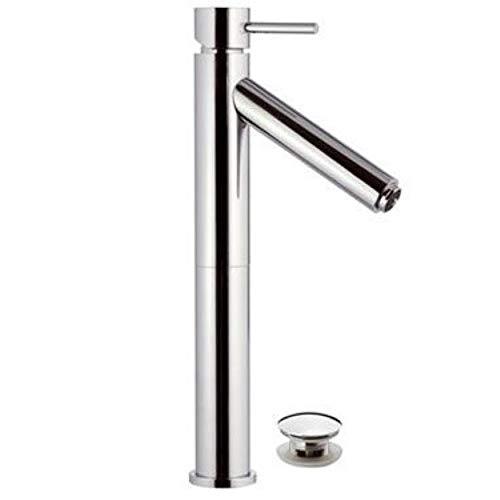 Remer - Rubinetto Alto l lavabo con Luce a LED - Serie Minimal Color - Click - Clack