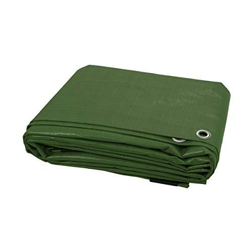 Am-Tech multipurpose 6x4ft tarpaulin use for fly sheet green ground sheet etc