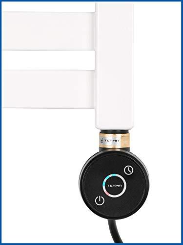 Thermostat Heizstab, Heizpatrone, Heizelement Modell DIANA 600 Watt (Schwarz)