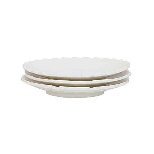 Set de 3 assiettes à dessert en porcelaine « Machine Collection », Ø 20 cm, hauteur 3 cm, modèle Ass