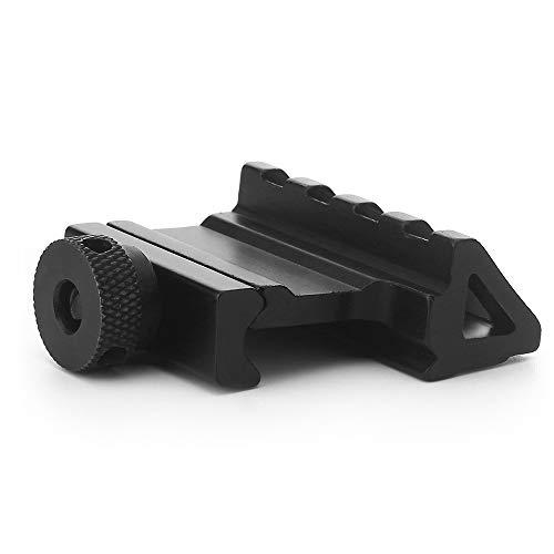 WEREWOLVES Zielfernrohrmontage 45-Grad-Winkelversatz Passend für 20 mm Weaver Picatinny Rail Mount Adapter Pistole Taktisches Jagdzubehör