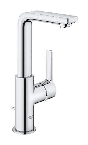 GROHE Lineare | Badarmaturen - Einhand-Waschtischbatterie, DN 15 L-Size |chrom |23296001