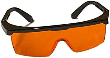 Professional UV Light Safety Glasses One Size Fits All Polycarbonate Shatterproof UVC Protection product image