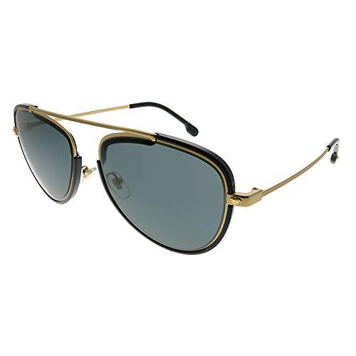 Versace Mens Sunglasses Black/Grey Metal - Non-Polarized - 56mm