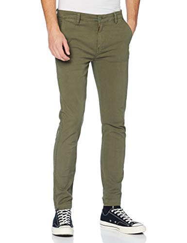 Levi's XX Chino Slim II Khakis, Bunker Olive Shady GD Ccu B, 32W / 34L para Hombre