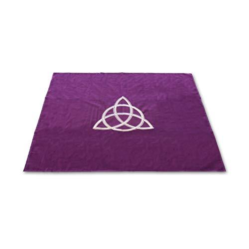 Tapis Violet 80 X 80 Cm - Triquetra
