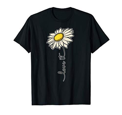 Gänseblümchen Shirt Liebe Es Blumen Frühling Garten Geschenk