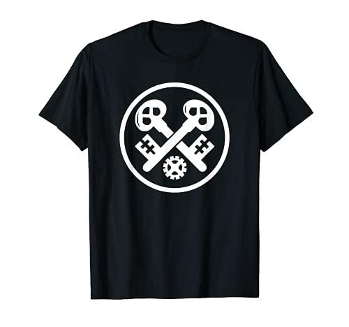 Herren Schlosser Metallbauer Zunftzeichen Geschenk T-Shirt