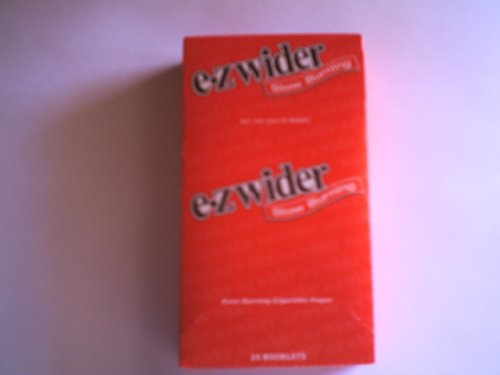 EZ WIDER 1 1/4 SLOW BURN ROLLING PAPERS 24 BOOKLETS