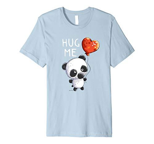Hug Me Panda Bär T-Shirt I Ballon Geburtstag Geschenk