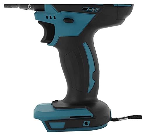 Bluetooth earphone Destornillador de Iones de Litio batería Kit de Carga rápida combinación de Taladro inalámbrico General Taladro eléctrico Compatible con makita 18v (sin batería)