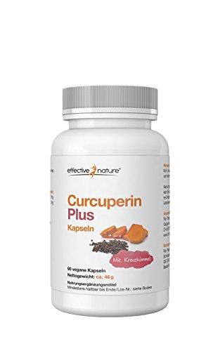 effective nature Curcuperin Plus Kapseln - 90 Stk. - 46g