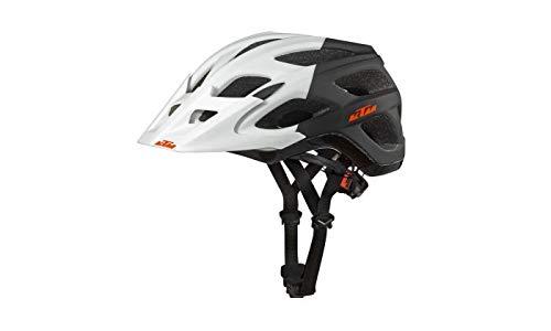 KTM Fahrradhelm White matt/Black matt Factory Character Helm Mit Fidlock Verschluss 54-58 cm