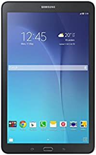 Samsung Galaxy Tab E SM-T561 Tablet - 9.6 Inch, 8GB, 1.5GB RAM, 3G, Black