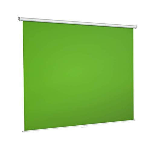 Green Screen Backdrop, Wall-Mounted Pull-Down Retractable Style,Wrinkle-Resistant...