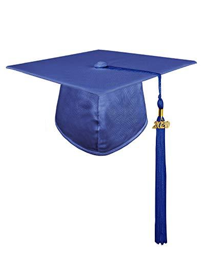 GraduatePro Birrete Graduacion Infantil 2020 Gorro Niño Niña Preescolar Disfraz Azul Real