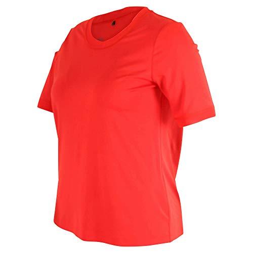 Sommermann - Rotes Basic T-Shirt Heike Größe 44