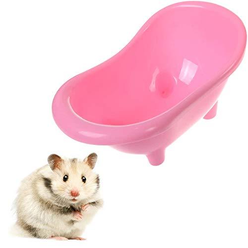 Saim - Bañera de plástico para baño o sauna, diseño de hámster