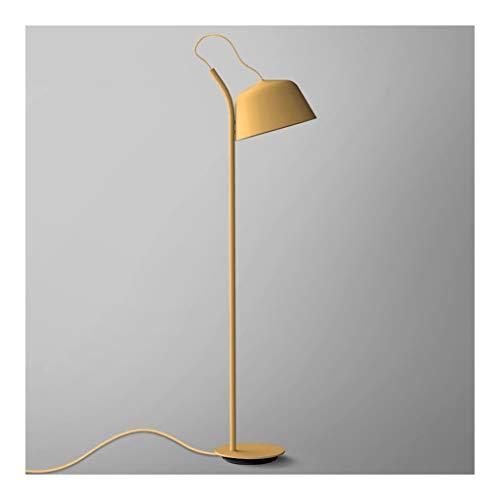 Stehlampen. Einfache Moderne Stehlampe Nordic-kreatives Haupt Wohnzimmer Study Schlafzimmer Nacht Vertikal Licht Büro Hotel Beleuchtung Stehleuchte Piano Licht (Color : C)