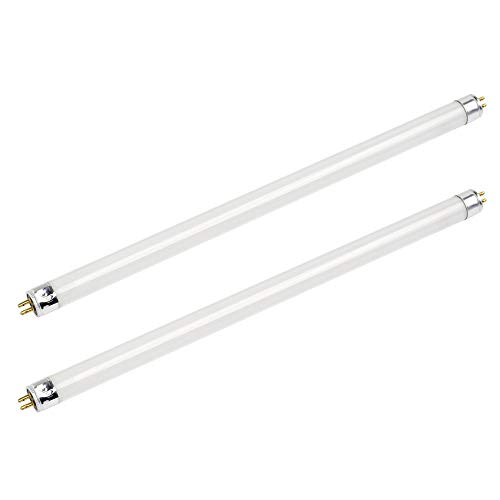 (Pack of 2) F8T5/CW 8W T5 12' Cool White 4100k Fluorescent Light Bulb 20,000hr