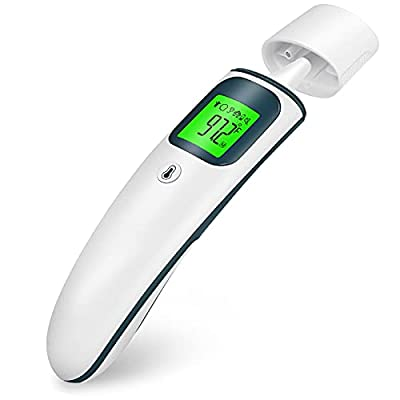 Chooseen Digital Forehead and Ear Thermometer