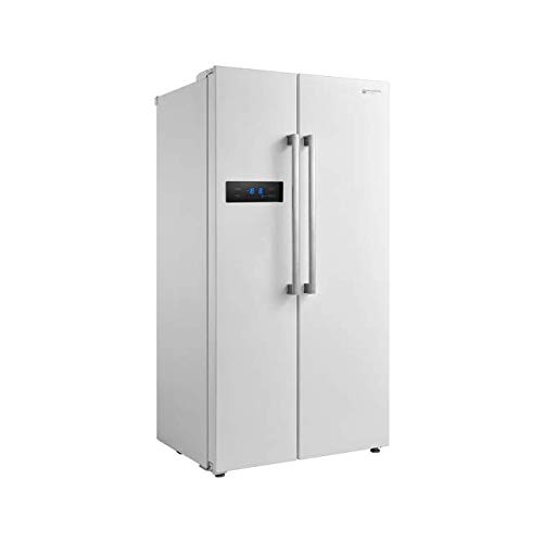 EAS ELECTRIC SMART TECHNOLOGY - Frigorífico americano 179x90 cm 2 puertas A+ Blanco - EMSS178AW1