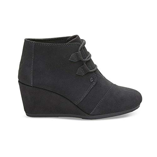 TOMS Forged Iron Grey Suede Women Kala Bootie 10012957 (Size: 8)