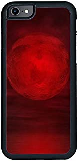 Decalac iPhone 6s Plus Case, Design Of Blood Moon On Cloudy Sky, Red