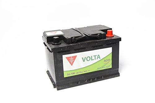 Bateria de coche 70 Ah start stop AGM +Dcha