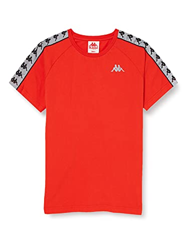 Kappa Michael Camiseta, Unisex, Naranja, S