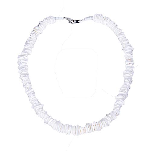 BlueRica Puka Chip Shell Beads Necklace (18 Inches)