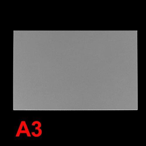 DealMux 2 mm clear Plastic Acrylic Plexiglass Perspex Sheet A3 Size 297 mm x 420 mm