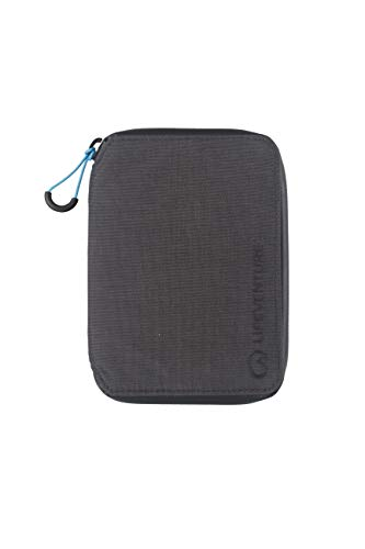 Lifeventure (Grey) RFID Protected Mini Travel Wallet Unisex-Adult, One Size