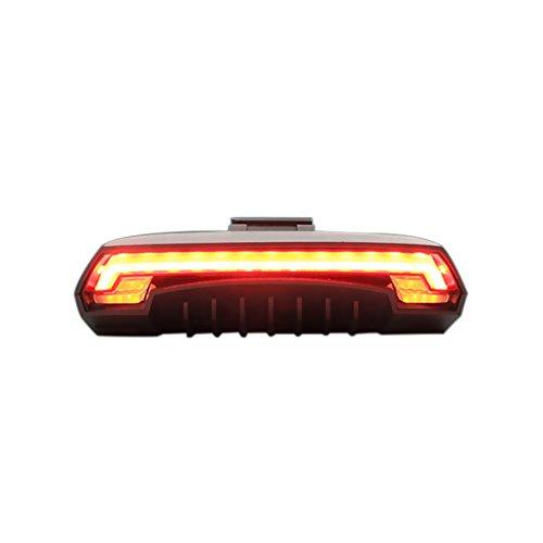 yorten X5 Fahrrad Rücklicht Bike Remote Wireless Licht Blinker LED Beam USB Kostenpflichtiges 80lm 9.2 * 4.3 * 2.8cm