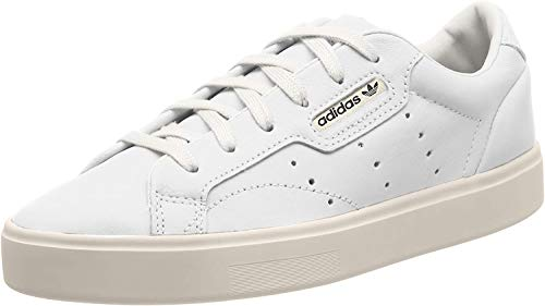 adidas Originals Damen Sneaker Sleek Weiss (10) 362/3