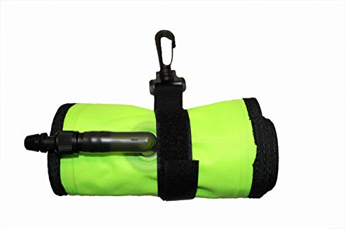 Black Turtle Dive Gear 6 Foot Safety Sausage (Oral Inflate) Surface Marker Buoy (Neon Yellow)