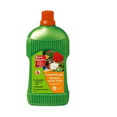 Bayer concime liquido per gerani e piante fiorite 1lt