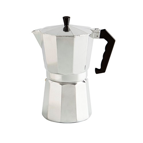 Quid Easy Coffee Cafetière en Aluminium pour Induction 3 Tasses