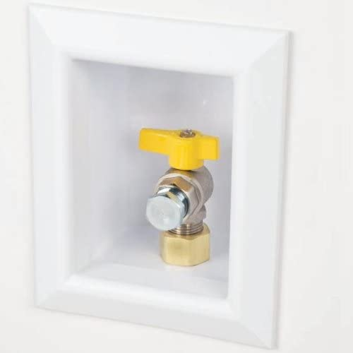 """new arrival Sioux online outlet sale Chief 696-1021GF Ox Box Gas Outlet Box, 1/2"""" NPT, White outlet online sale"""
