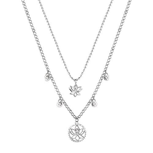BROSWAY Collar Chakra – Flor de loto – BHKN064