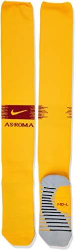 Nike Erwachsene A.S. Rom Stadium Home/Away Fußballstutzen, University Gold/Team Crimson, L/EU 42-46