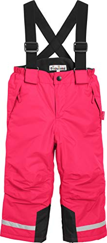 Playshoes Jungen Gefütterte Kinder, Skihose, Snowboardhose Schneehose, Rosa (pink), (Herstellergröße: 86)