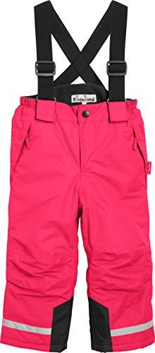 Playshoes Jungen Gefütterte Kinder, Skihose, Snowboardhose Schneehose, Rosa (pink), (Herstellergröße: 92)