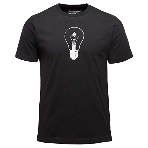Black Diamond M SS BD Idea Tee T-Shirt pour Homme S Noir