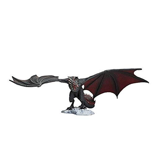 Yanshangqi Juego de Tronos Figuras Negro dragón Drogon Acción Figma Figura -5.51 Pulgadas