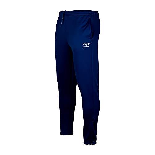 Umbro 97087I-451 Force Logo Pant Hombre, Azul, L