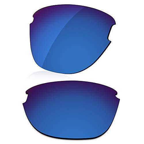 LenzReborn Reemplazo de lente polarizada para Oakley Frogskins Lite OO9374 Sunglass - Más opciones, Azul marino - Espejo polarizado, Talla única